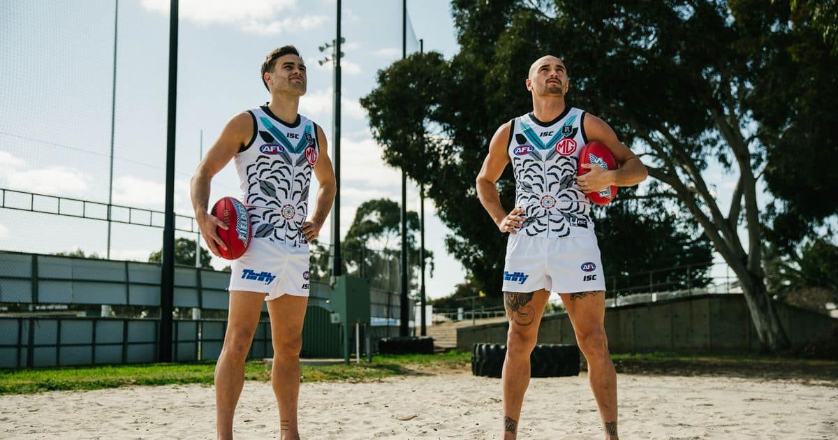 Port Adelaide Unveil 2020 Indigenous Guernsey