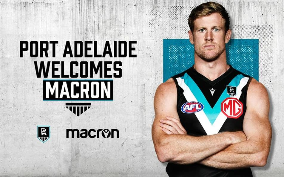Macron Partners With Port Adelaide
